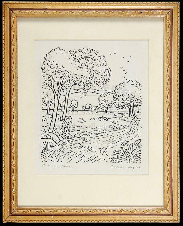 8: Original Valenti Angelo Drawing