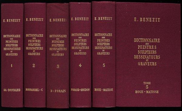19: Benezit's Dictionnaire des Peintres, Sculpteurs..