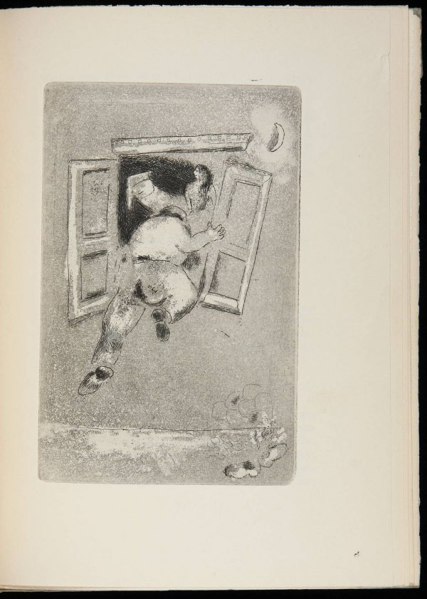 24: Arland's Maternité with 5 Marc Chagall etchings