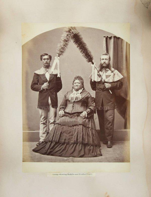 130: Album of 47 Hawaiian photographs c.1875