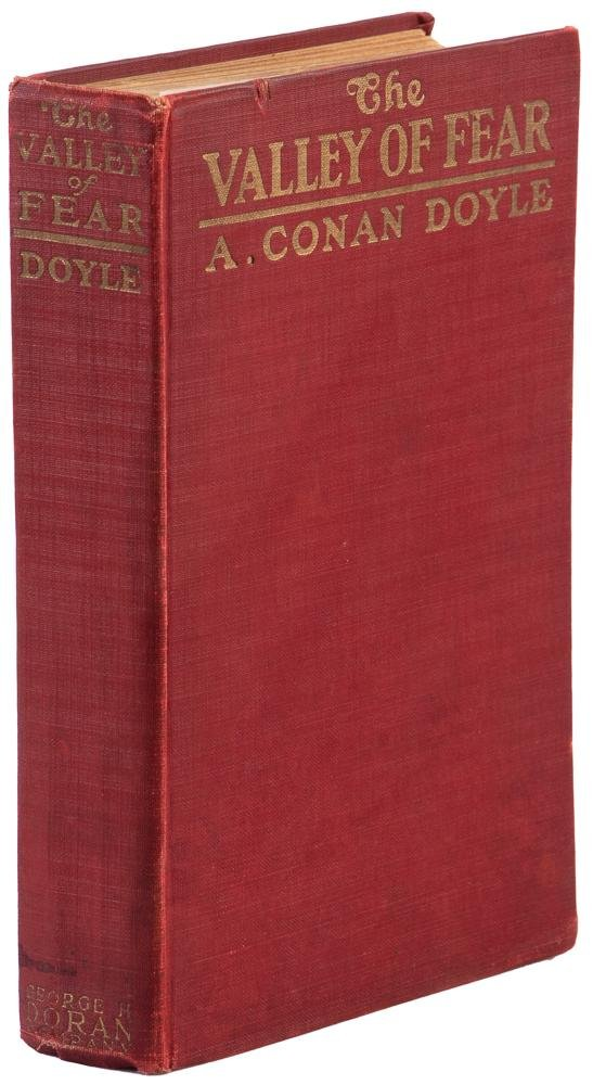 Valley of Fear: Sherlock Holmes 1st Ed.