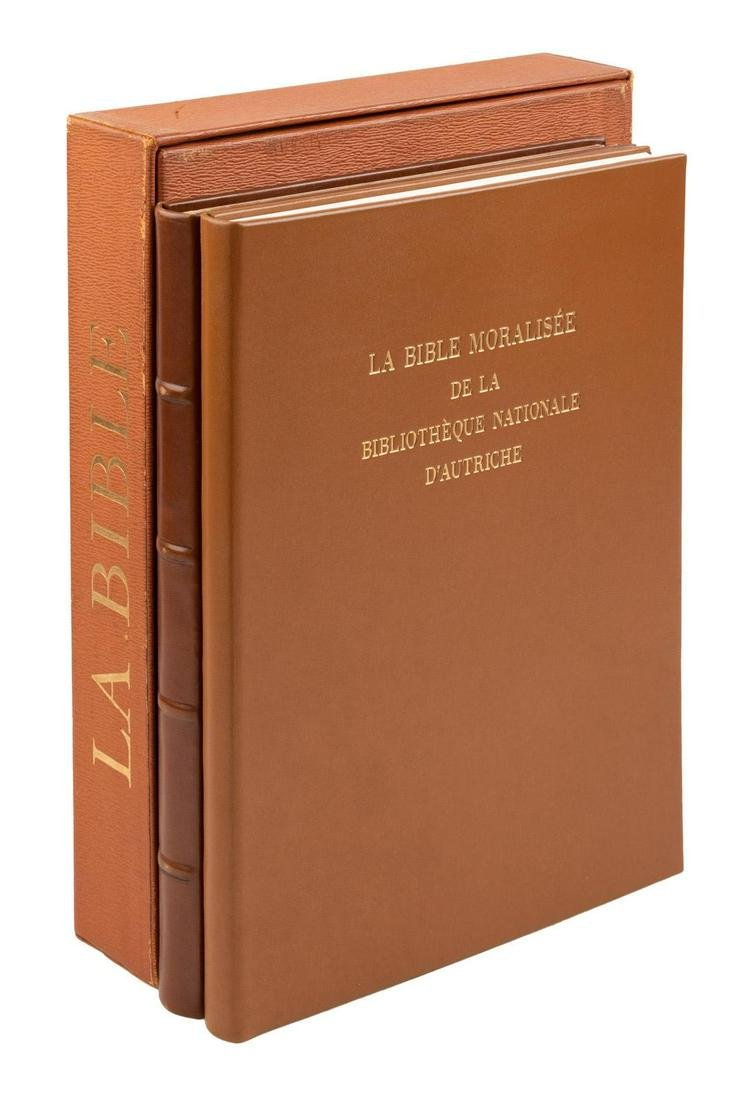 Facsimile of illuminated manuscript Bible