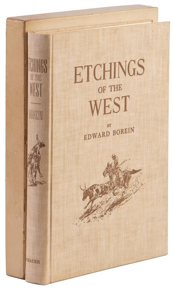 Edward Borein Etchings of the West 1/1001