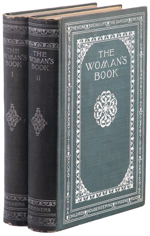 The Woman's Book 2 vols. w/color plates 1894