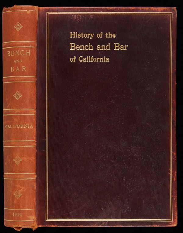 1009: History of the Bench and Bar of California
