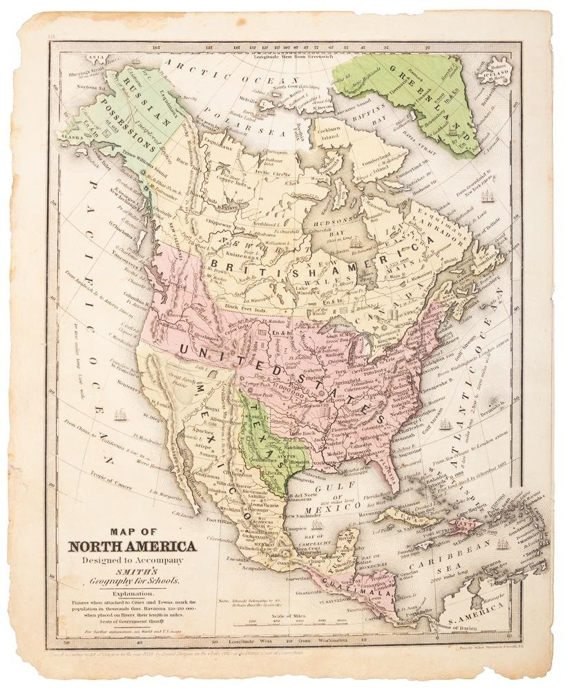 North America with large independent Texas