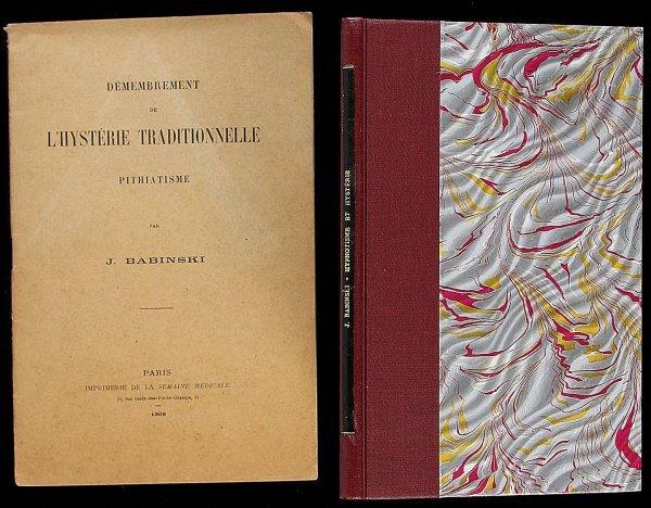 2009: Lot of two monographs by J. Babinski