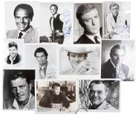 Mid-20th century movie actor autographs