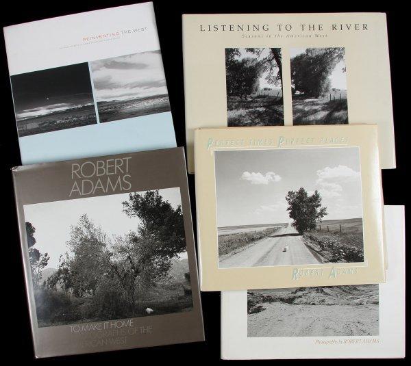 4469: 5 photography books by Robert Adams