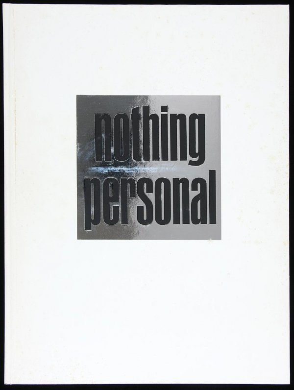 4473: Avedon's Nothing Personal, First Ed. in Slipcase