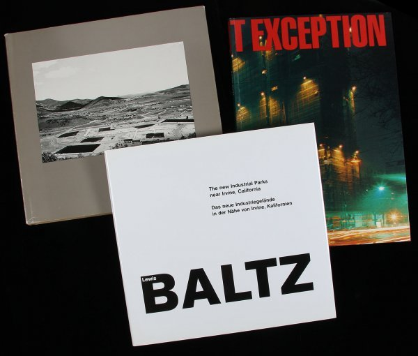4474: Three photography books by Lewis Baltz
