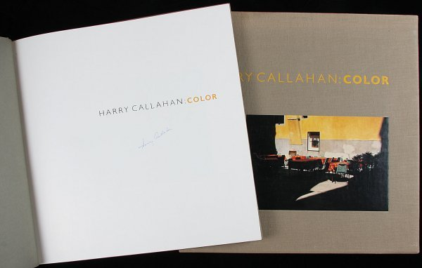4479: Harry Callahn's Color, signed