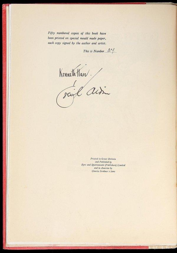 3005: Cecil Aldin Roads and Vagabonds 1 of 50 copies
