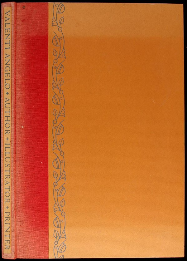 3008: Valenti Angelo: Author, Illustrator, Printer