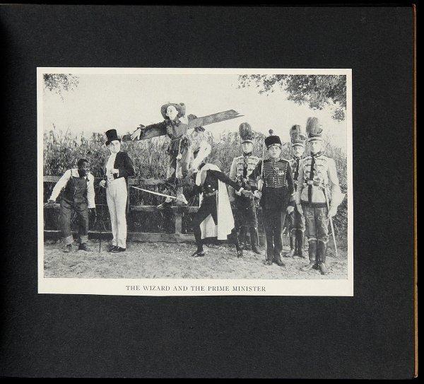 3013: Stills from 1915 Wonderful Wizard movie