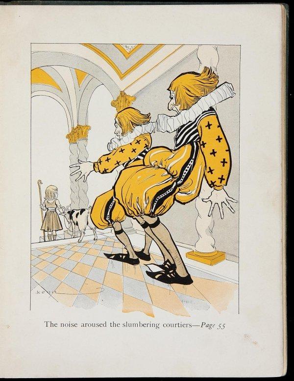 3014: Baum's American Fairy Tales illus by George Kerr