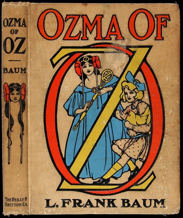 3015: Ozma of Oz First Edition First State