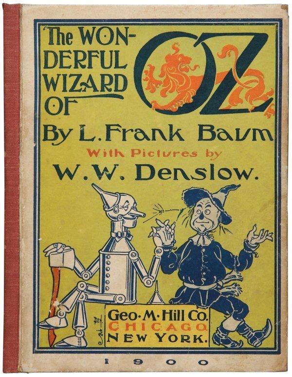 3016: Wizard of Oz Advance Specimen 1900