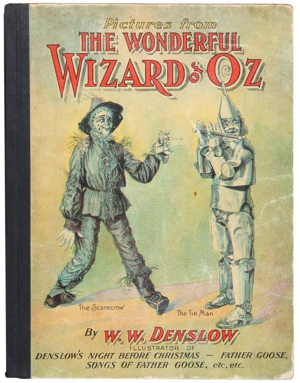 3017: Rare hardcover Pictures from Wizard of Oz