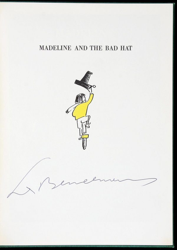 3022: Madeline and the Bad Hat signed lmtd ed
