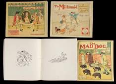 3034: Six Volumes from R. Caldecott's Picture Books