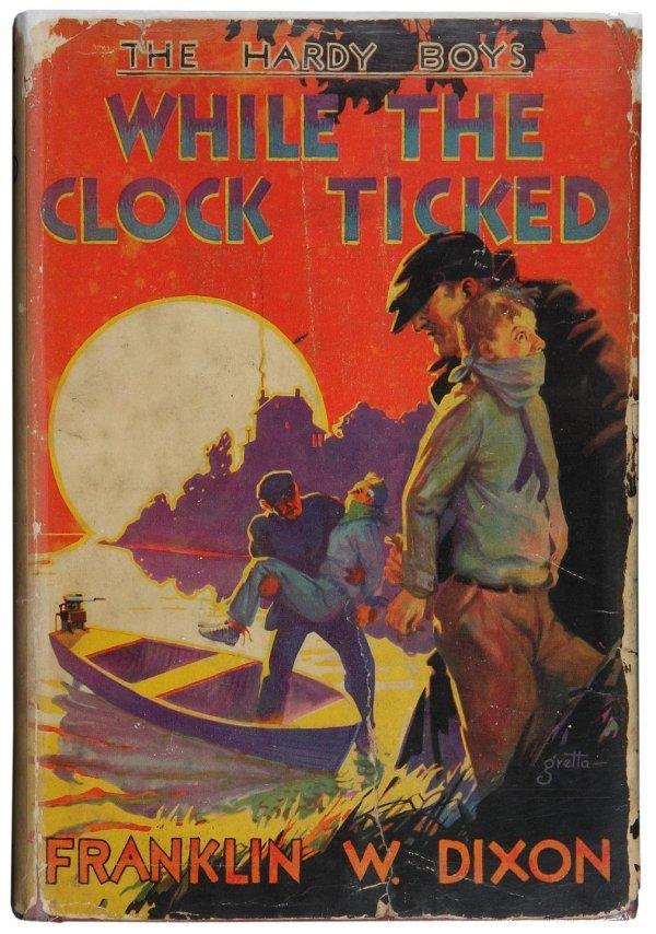 3338: Hardy Boys #11 1st ed, 1st printing w/dustjacket