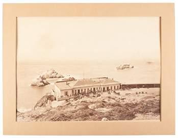 Watkins' mammoth plate photo of Cliff House, San