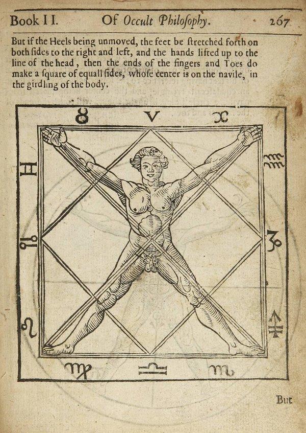 2: Agrippa's Occult Philosophy 1651