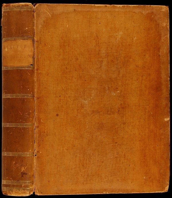 16: Beatties Dissertations Moral & Critical 1783