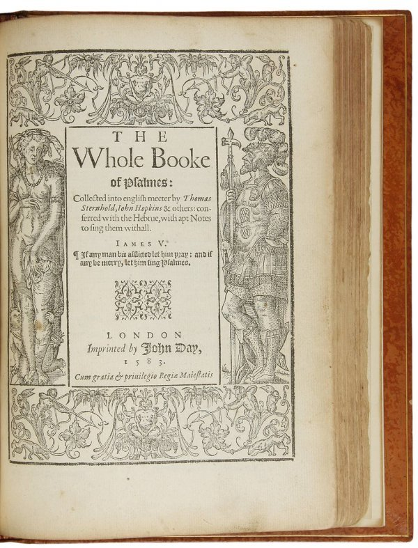 17: 1583 New Testament in English With Psalms