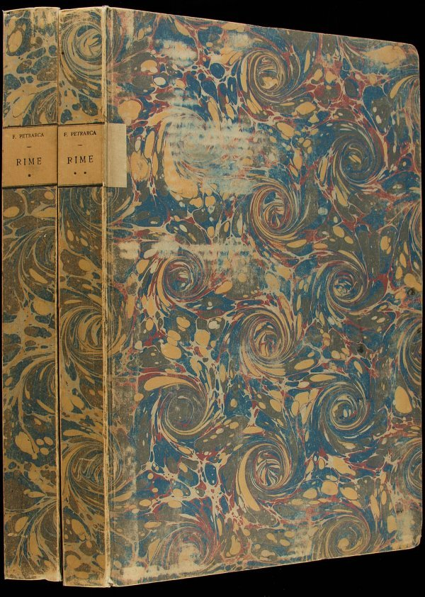 23: Bodoni printing of Petrarca's Rimes 1799