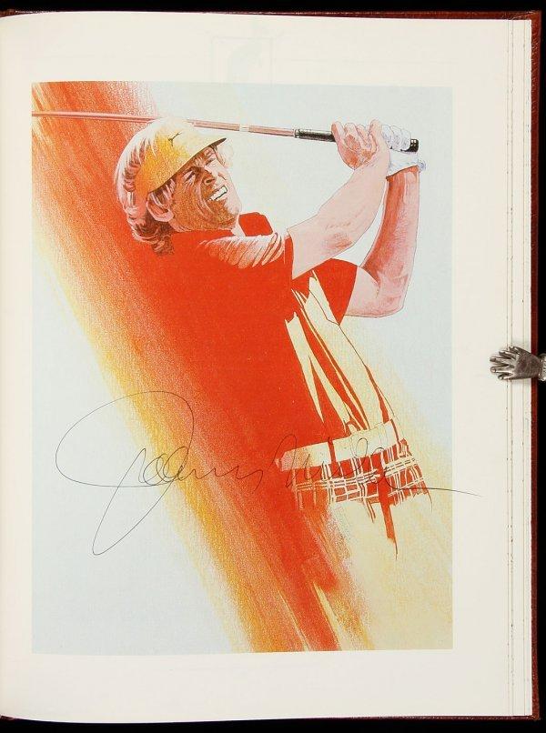 1: Fifty Greatest Post-War Golfers sigd 1988 reprint