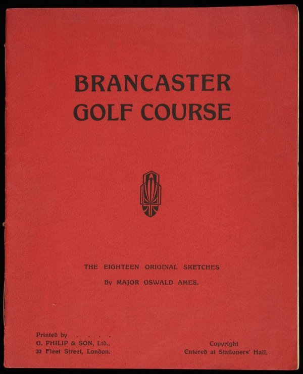 6: rare pamphlet, Brancaster Golf Course by Gen Ames