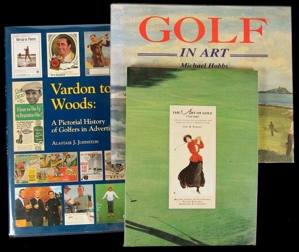 10: 3 books about Golf and Art