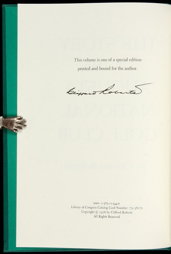 13: Story of Augusta National Golf Club spec edition