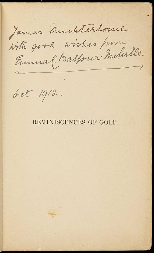 14: Reminiscences of Golf on St. Andrews Links 1st Ed