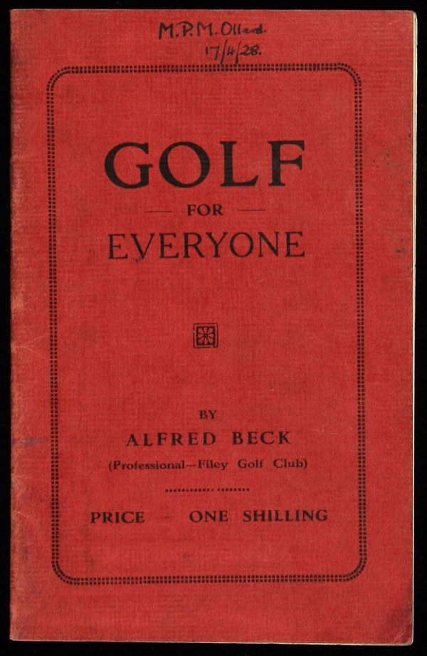 21: Hints on Golf for Everyone by  Alfred Beck