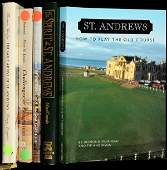 335 signed or lmtd ed books on history of St Andrews
