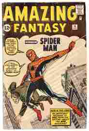 AMAZING FANTASY #15 * 1st Appearance: SPIDER-MAN *