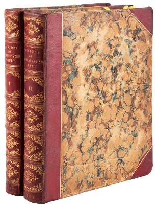 History of Westminster Abbey 1812 Ackermann