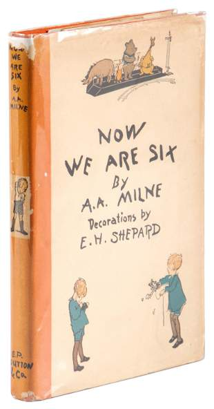 Now We Are Six, first US trade edition