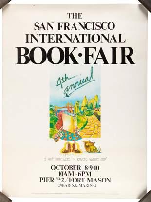 SF international Book Fair poster - 4 copies