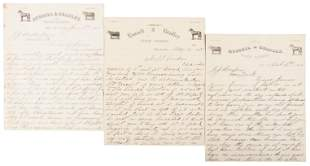 Letters describing cattle ranch for sale