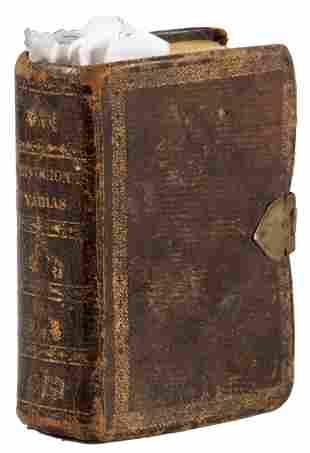 Bound volume of 21 Novenas, 1802-1856