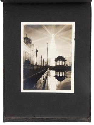 Album of 30 photographs from the PPIE, 1915