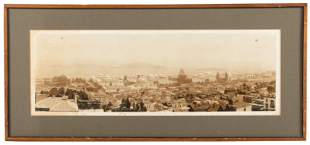 Framed panoramic photograph from PPIE