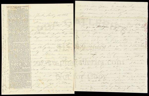 4: Letter from John Bigler to Henry Haight