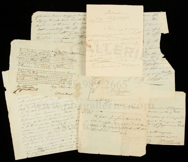 5: Archve of Benhamin Bourne letters 1783-1796
