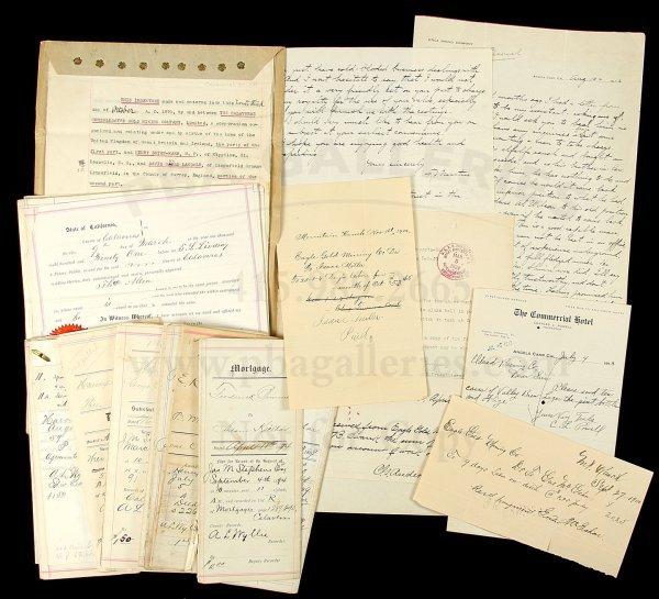 8: Archive of Calaveras County ephemera