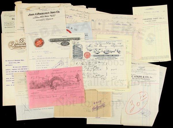 14: Archive of SF Hardware Merchants Ephemera